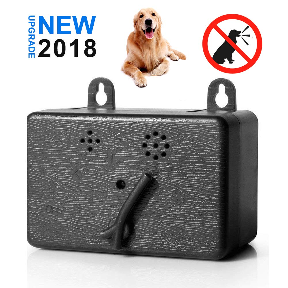 Z-H-C New Upgrade Mini Ultrasonic Dog Bark Control Device, Anti Barking Deterrent, Indoor/Outdoor Stop Barking Training Tool, Sonic Bark Deterrents Silencer, Up to 55 Feet Range