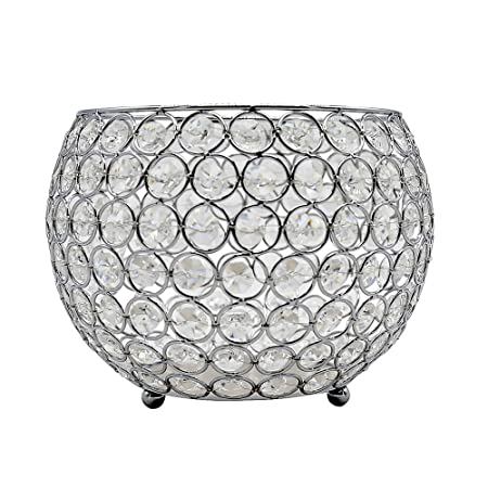 Joynest Portavelas de cristal para velas, mesa de café de boda ...