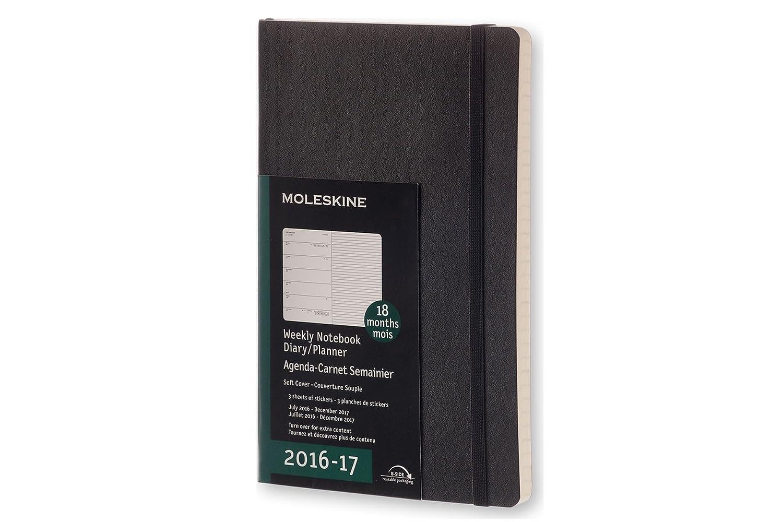 Moleskine Wochen Notizkalender, Taschenkalender, 18 Monate, 2016 ...