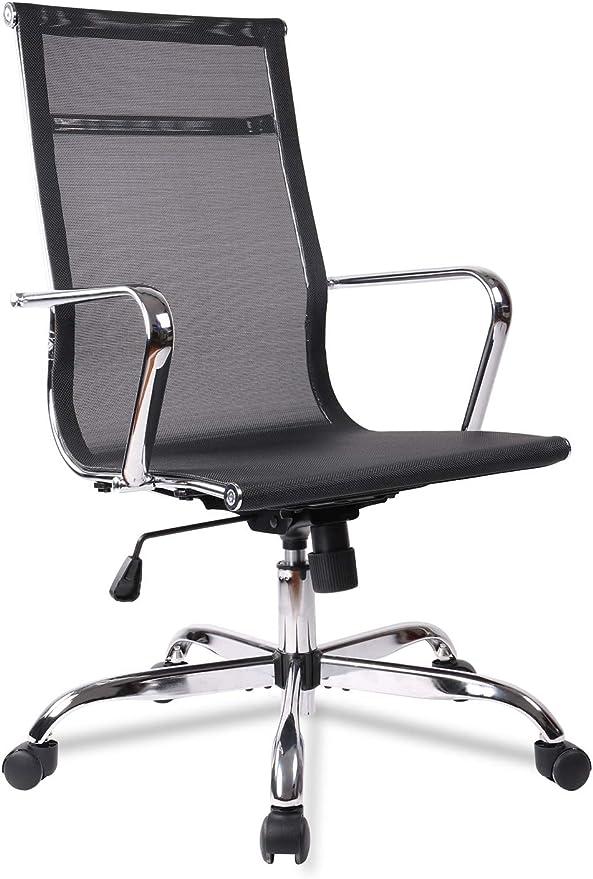 Office Chair Mesh, High Back Computer Task Desk Chair - Budget-pick