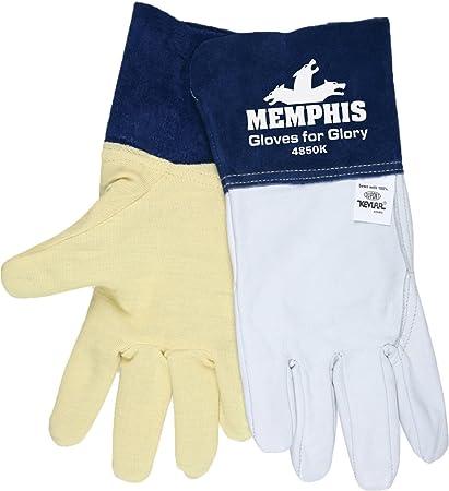 Seguridad MCR 4850 km guantes para Gloria Premium grano piel de cabra MIG/TIG soldador