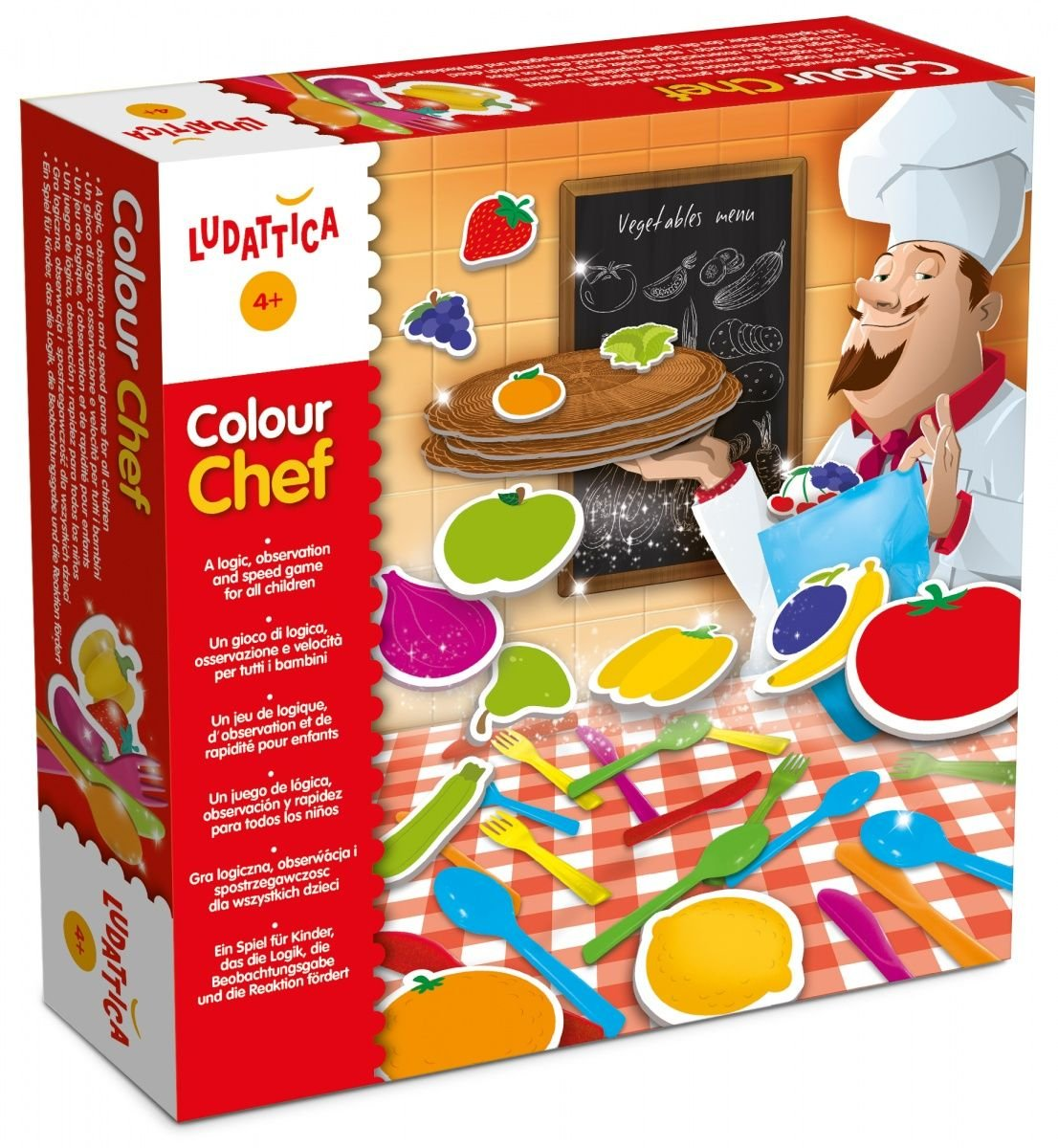 Colour Chef Geschicklichkeitsspiel amazon