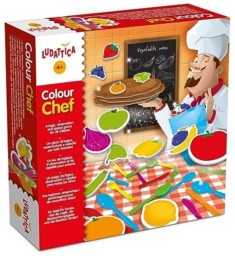 Lisciani 47147 - Colour Chef, Geschicklichkeitsspiel