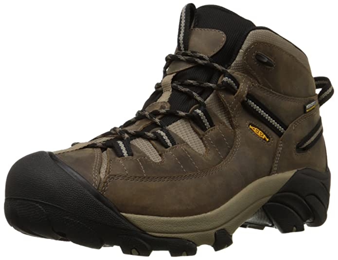 best hiking boots KEEN Men's Targhee II Mid Waterproof Hiking Boot