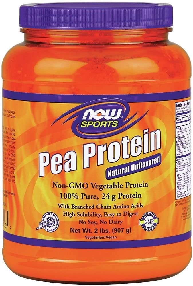 100% Pure Proteína de guisante ahora alimentos 2 kg polvo ...