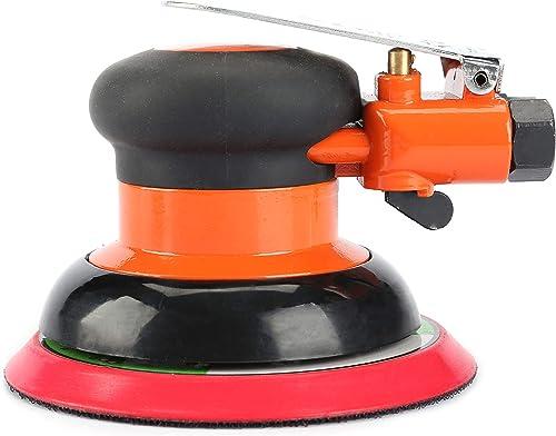 5 Air Random Orbital Sander,125mm Dual Action Palm Pneumatic Sander,10000 RPM