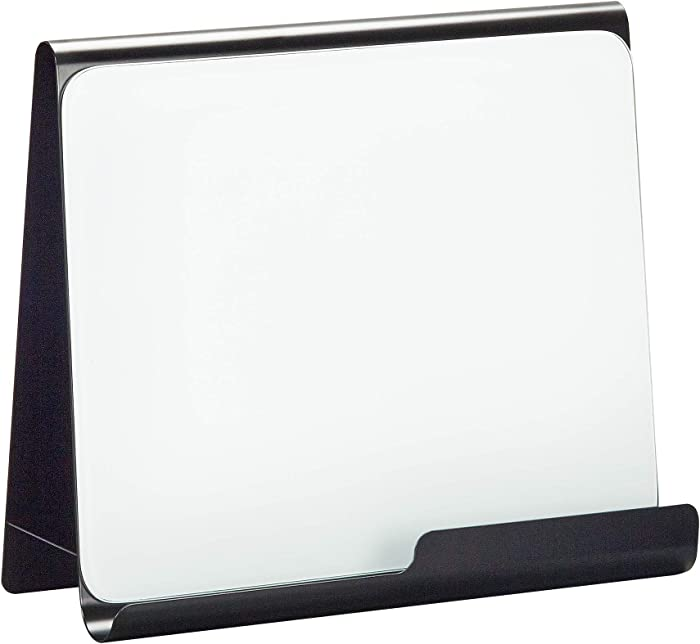 Safco Products 3220BL Wave Magnetic Dry Erase Easel, Black