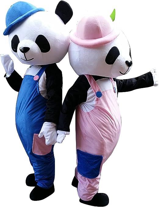 Happy Shop - Disfraz de Oso de Panda de la UE para Adultos ...
