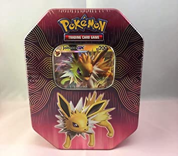 Caja Metalica Pokemon Jolteon gx (español) : Amazon.es: Juguetes ...