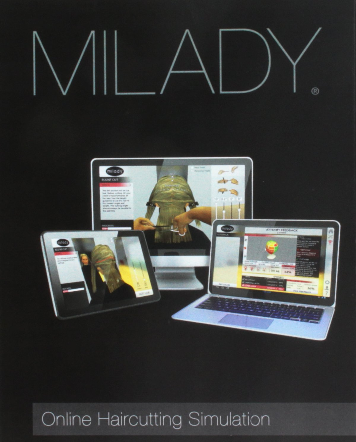 Milady Standard Cosmetology + Theory Workbook + Practical Workbook ...