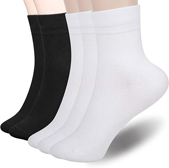 New Lot 5 Pairs Ankle Quarter Crew Men Women Thin Socks Cotton Casual Sports