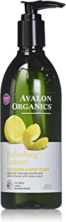 product image for Avalon Organics Lemon Glycerin Hand Soap, 12 Ounce Bottles (Pack of 4)