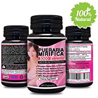 Pueraria Mirifica 3000 Extreme Pure & Natural Bust Breast Enlargement Pills Capsules