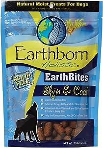 Earthborn Holistic EarthBites Skin & Coat Grain-Free Moist Treats for Dogs