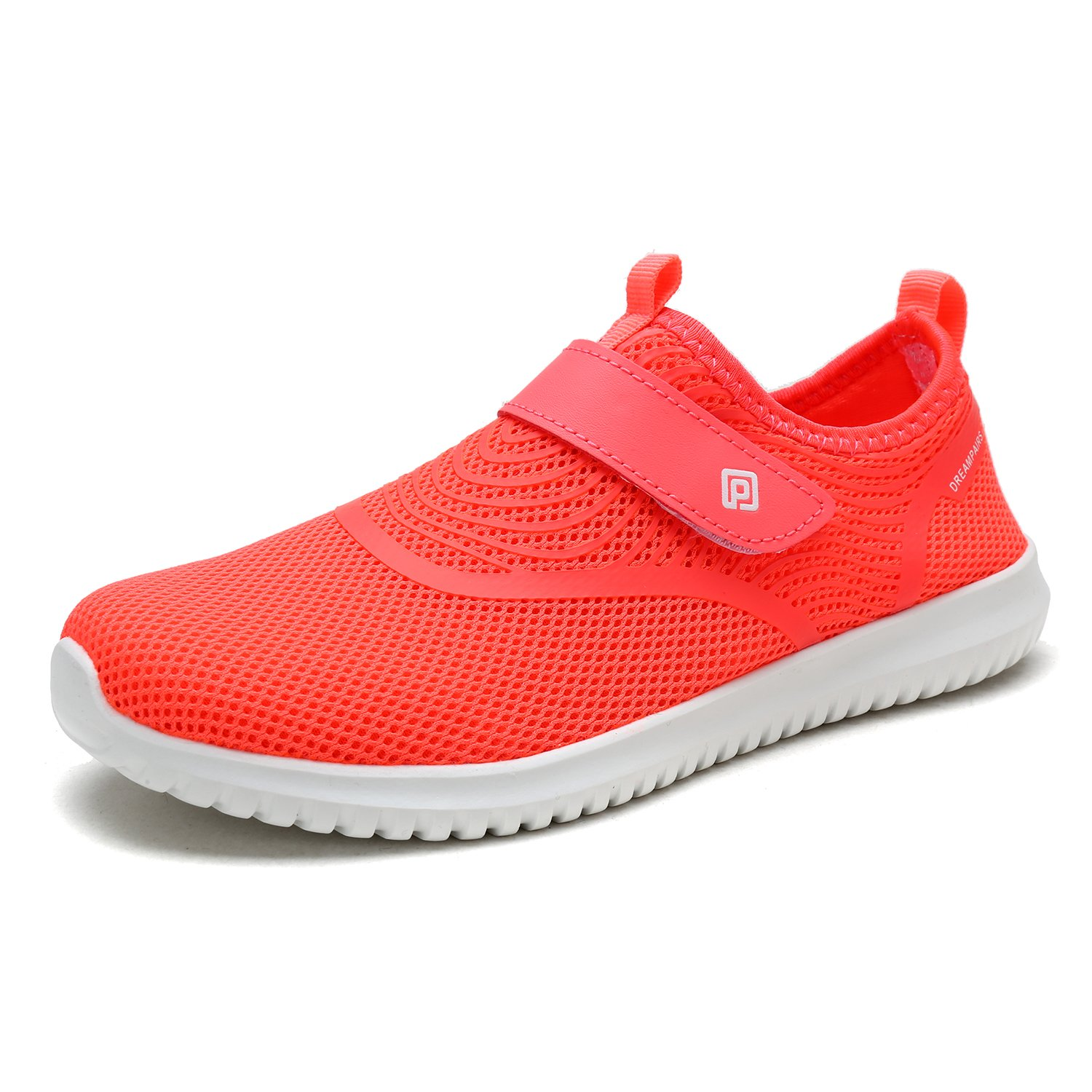 DREAM PAIRS Quick-Dry Water Shoes Sports Walking Casual Sneakers for Women B07887XDP7 8.5 M US|Coral
