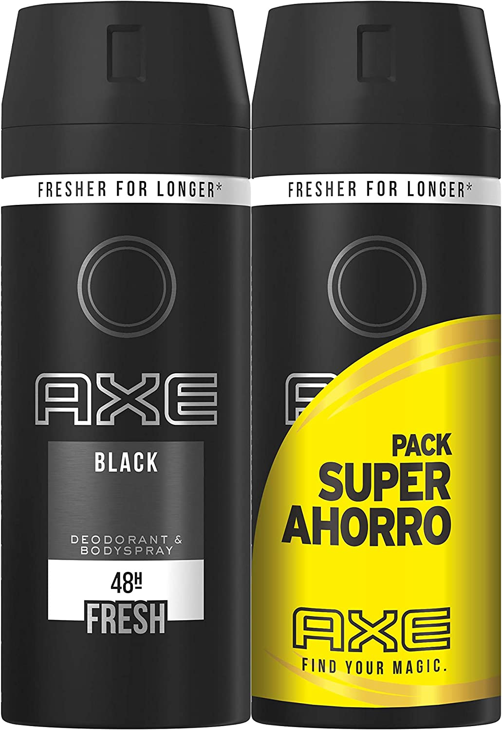Axe - Pack Duplo Ahorro Desodorante Black - 2 x 150 ml: Amazon.es ...
