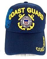 U.S Coast Guard - Casquette brode guardes cotes americain - Bleu - Taille unique