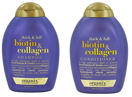 Organix Thick and Full Biotin and Collagen Shampoo & Conditioner Set Review