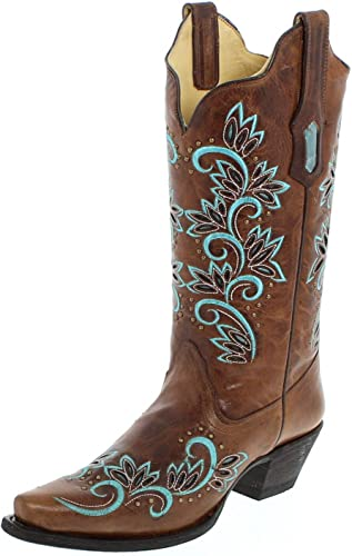 corral turquoise inlay boots