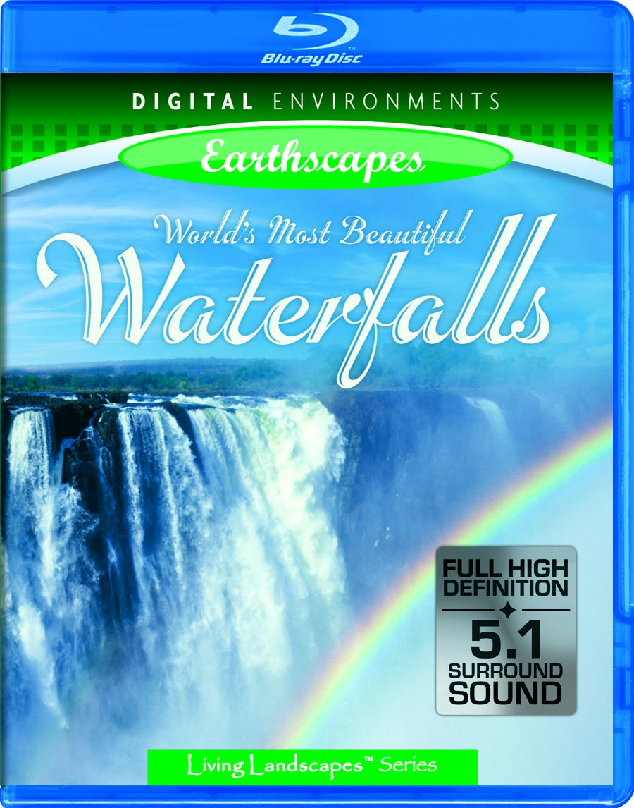 Living Landscapes: World's Most Beautiful Waterfalls [Blu-ray]