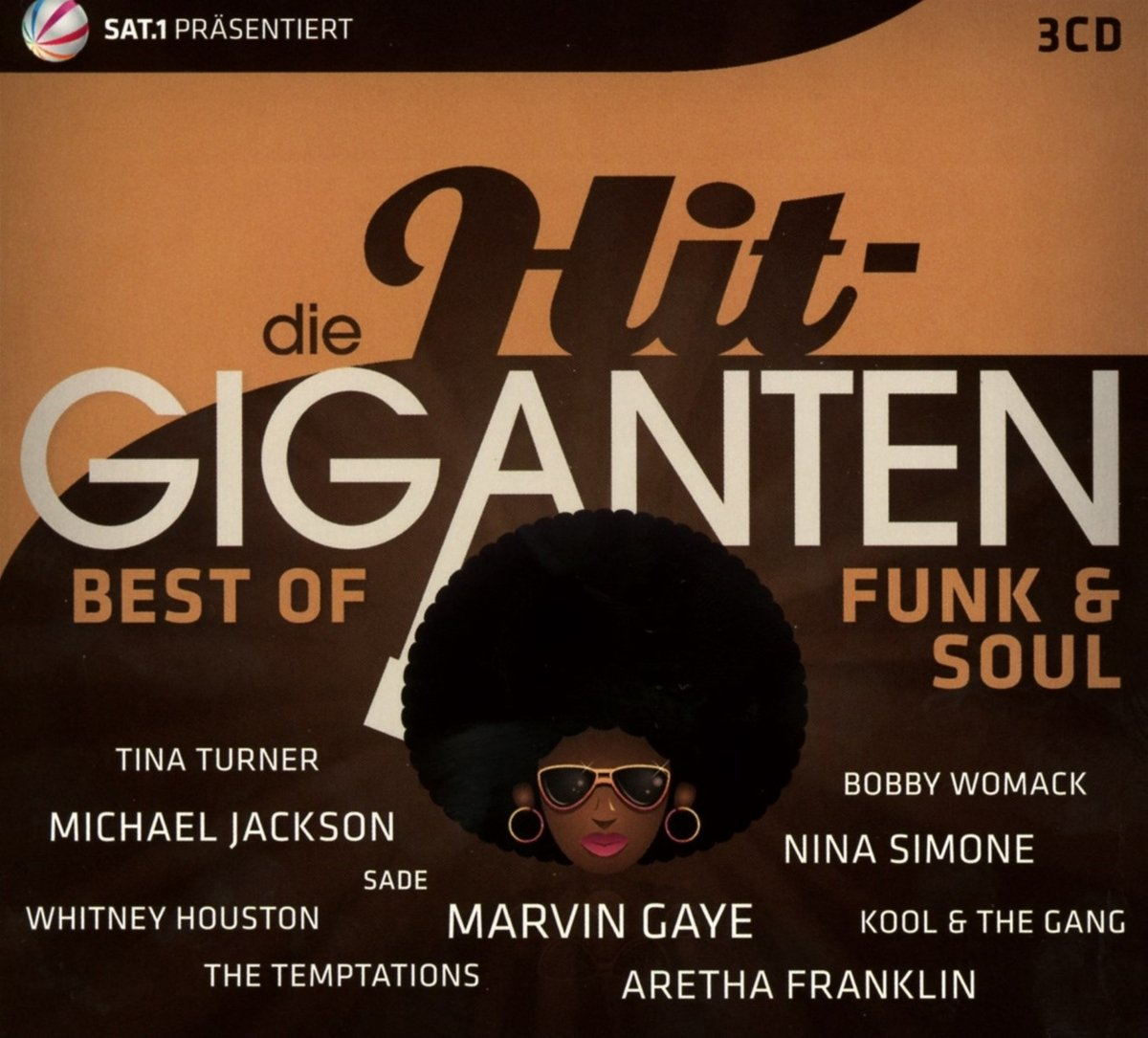 VA - Die Hit - Giganten Best Of Funk And Soul - 3CD - FLAC - 2017 - NBFLAC Download