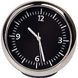 Discoball® Table Classic Car Dashboard Small Round Analog Quartz Clock [[ Size: 4x4x4CM ]]