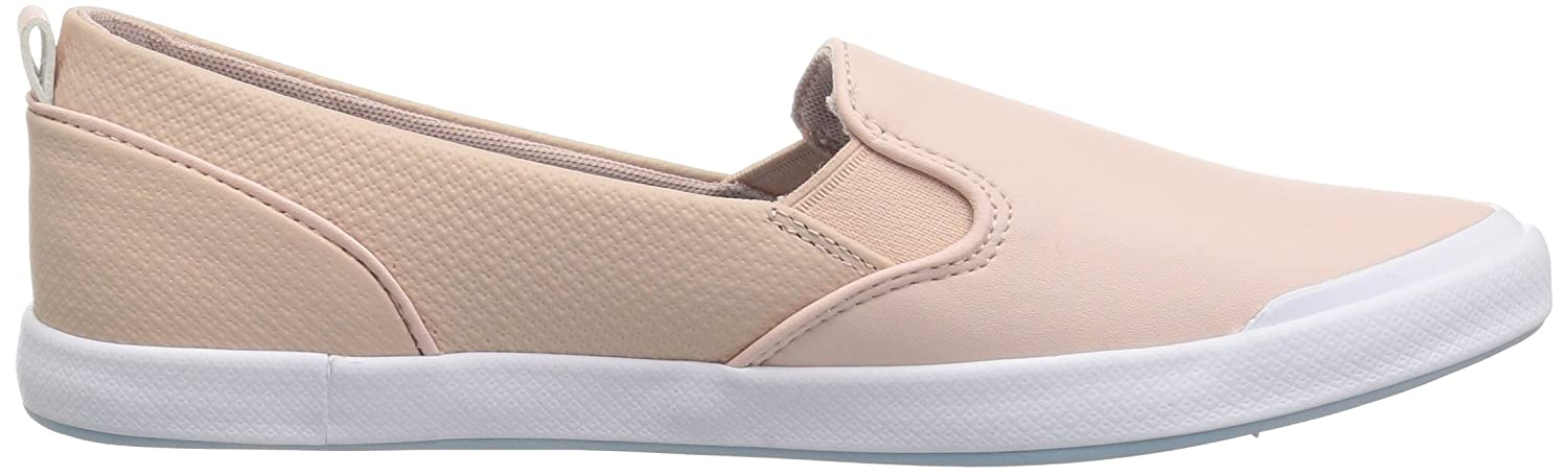 Lacoste 6 Women's Lancelle Slip-ONS B071X86WTQ 6 Lacoste B(M) US|Natural/Light Blu Synthetic fb784e