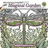 Magical Garden 2018 Coloring Wall Calendar