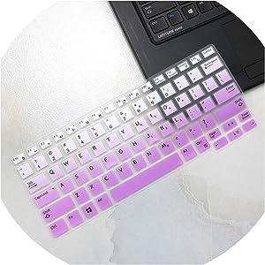 Compatible for Dell Latitude E7250 E5250 E7270 E5270 E7389 E5270 12.5 Latitude 7290 7280 7380 7390 E7370 13.3 Laptop Keyboard Cover Skin,fadepurple