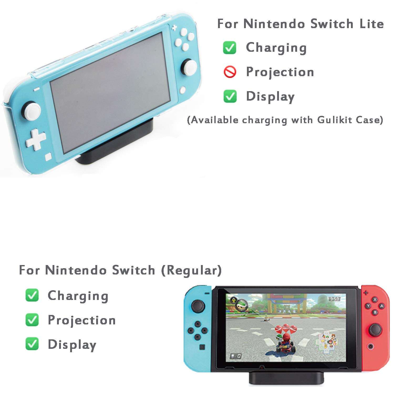 GulKit Pocket TV Dock for Nintendo Switch, PD Protocol ...