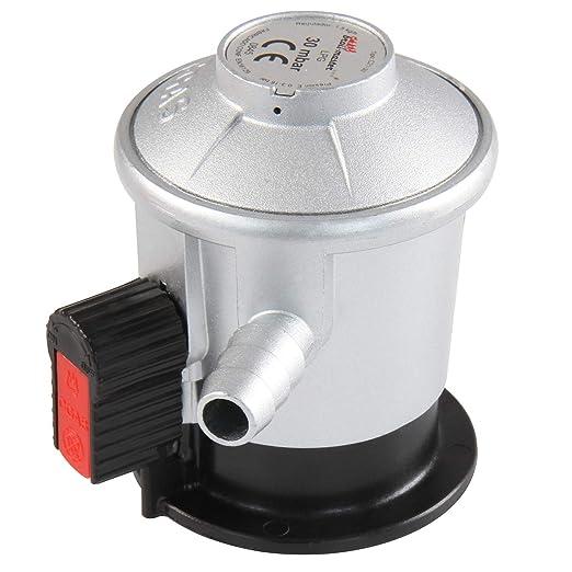 broil-master Manguera de Presión Regulador | Compatible con Cilindros de Gas españoles, presión de Funcionamiento: 30 mbar, Longitud: 80 cm | Parilla ...