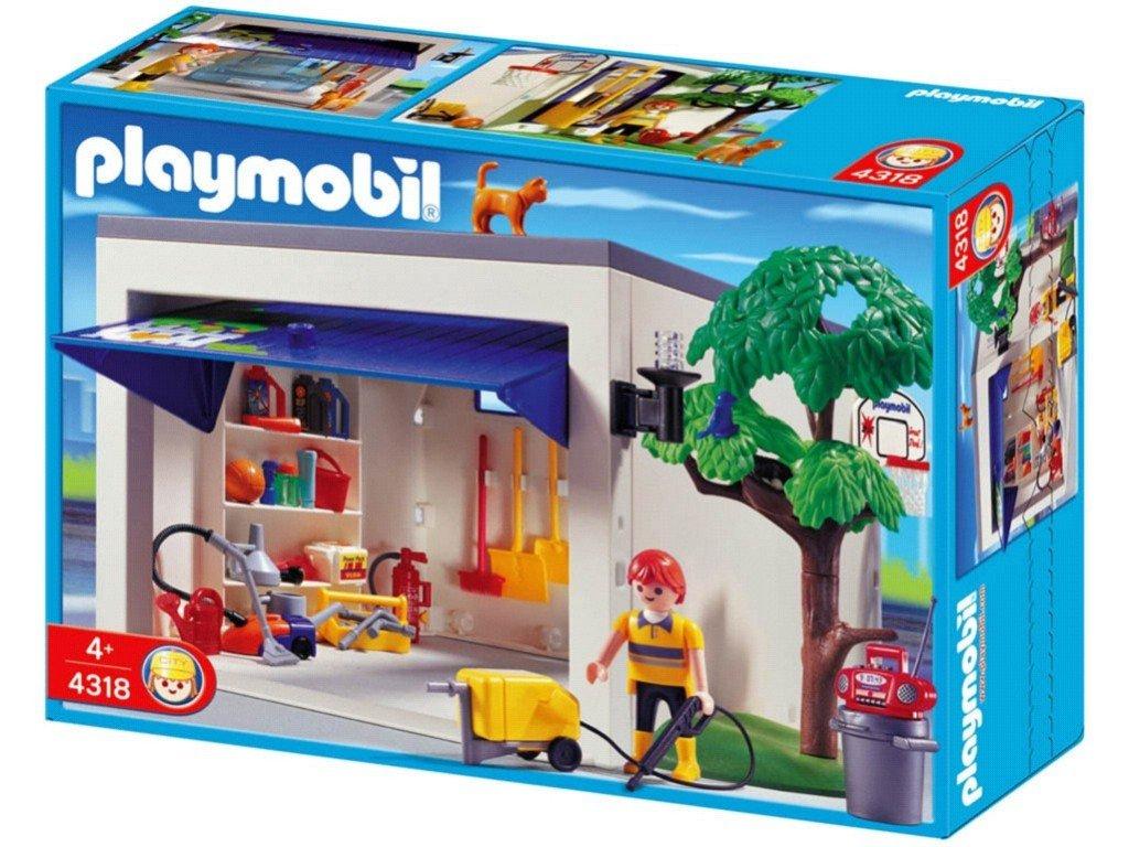 Playmobil 4318 Garage Amazon Co Uk Toys Games
