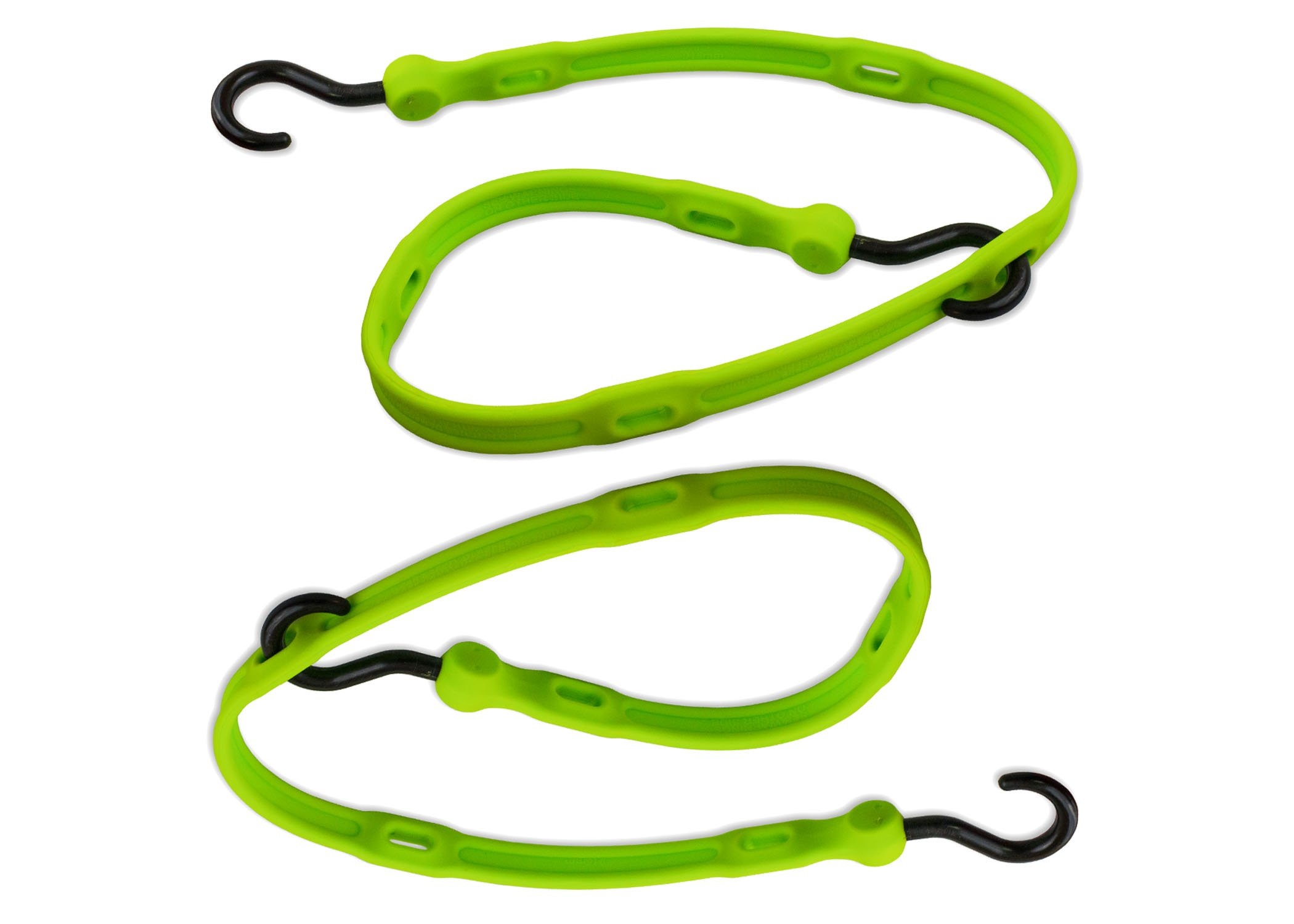 The Perfect Bungee by BihlerFlex AS36G2PK Strap Adjustable Bungee 2-Pack, 36'', Safety Green