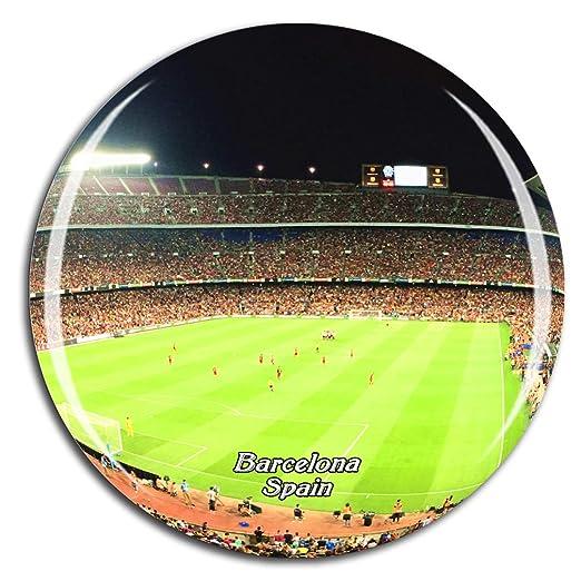 Weekino España Camp NOU Barcelona Imán de Nevera 3D de Cristal de ...