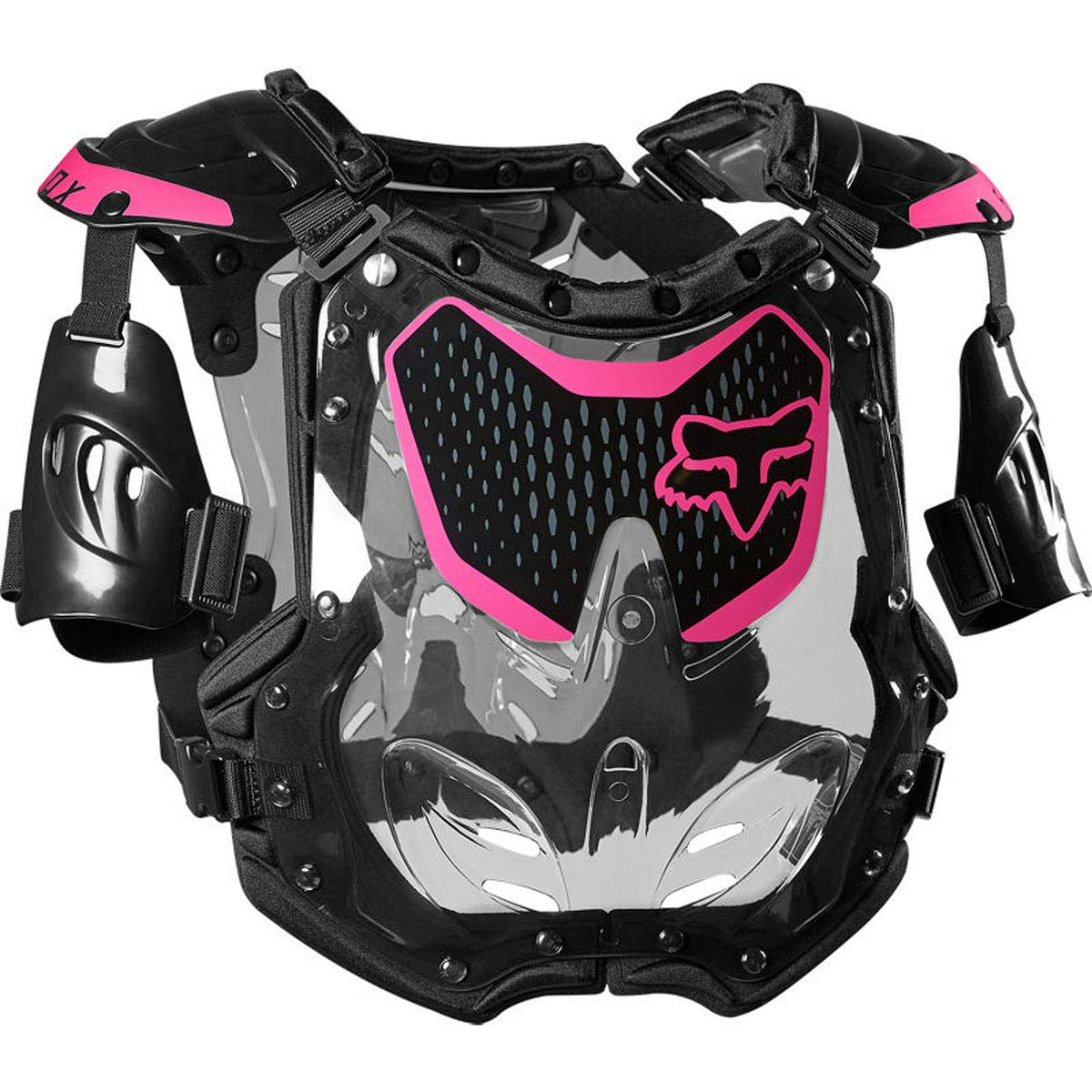 Fox Racing 2020 Womens R3 Roost Deflector Black//Pink Medium//Large