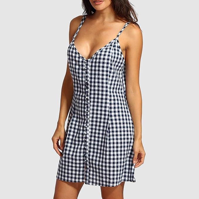 DOGZI vestidos mujer verano 2018 vestidos mujer casual vestido fiesta mujer vestidos largos verano vestidos mujer vestidos largos casual Mini vestido sin ...
