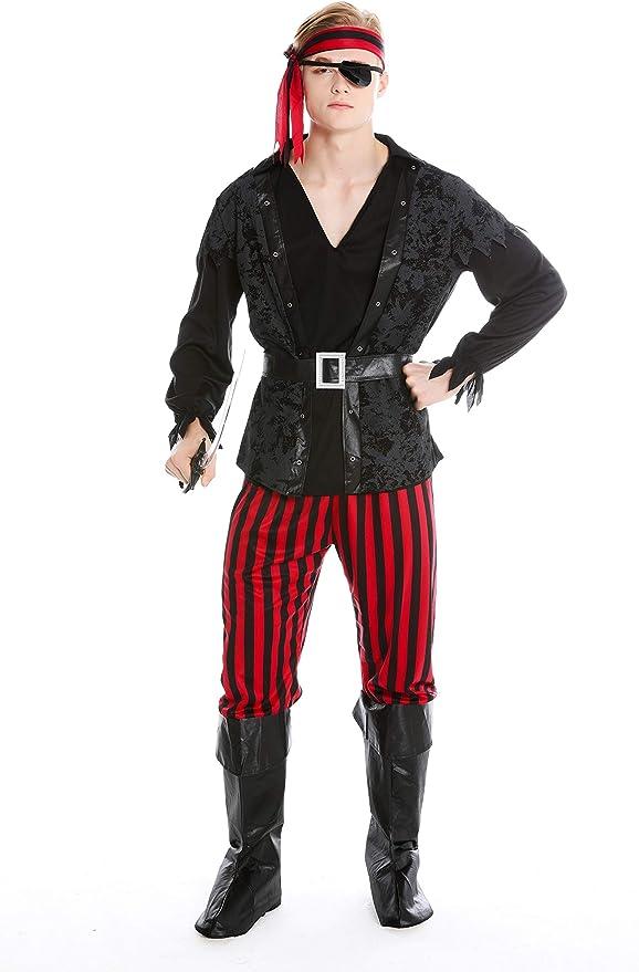 dressmeup Dress ME UP - M-0162-M Disfraz Hombre Carnaval Pirata ...