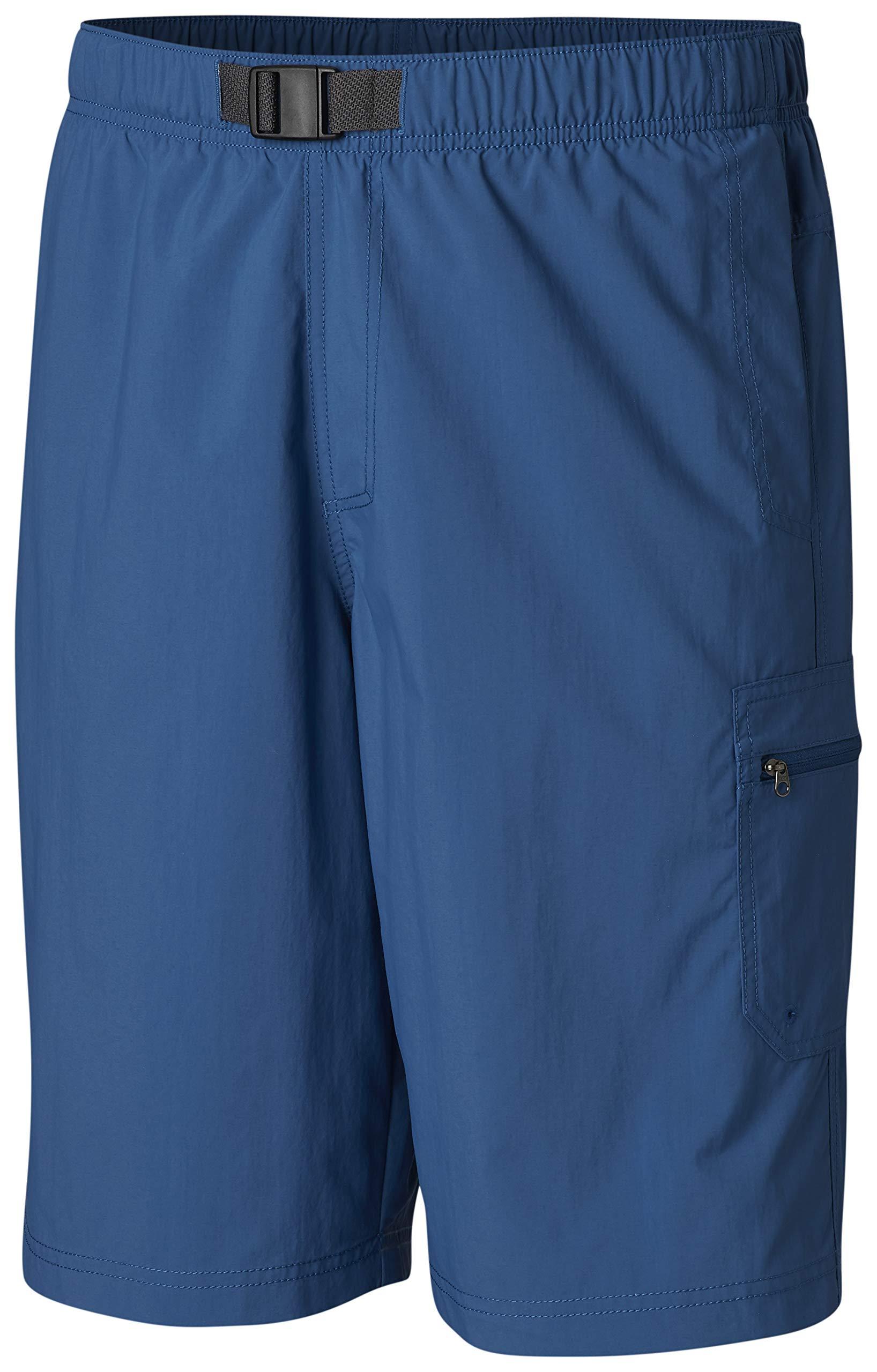 Columbia Men's Palmerston Peak Short, Waterproof, UV Sun Protection, Impulse Blue, 2X x 9'' Inseam by Columbia