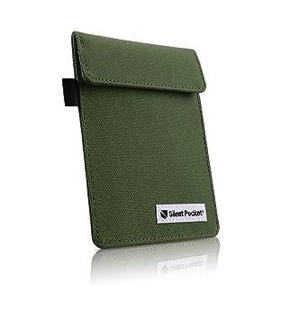 Silent Pocket Signal Blocking Faraday Key Fob Case Car Anti Theft Device Shielding Against All