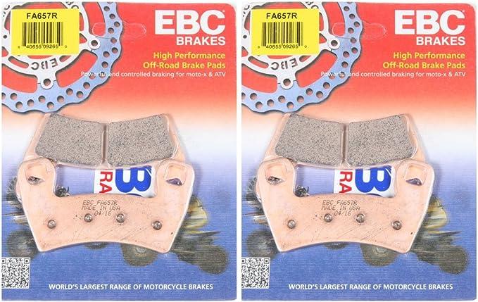 2 Packs - Enough for 2 Rotors EBC Brake Pads FA656R