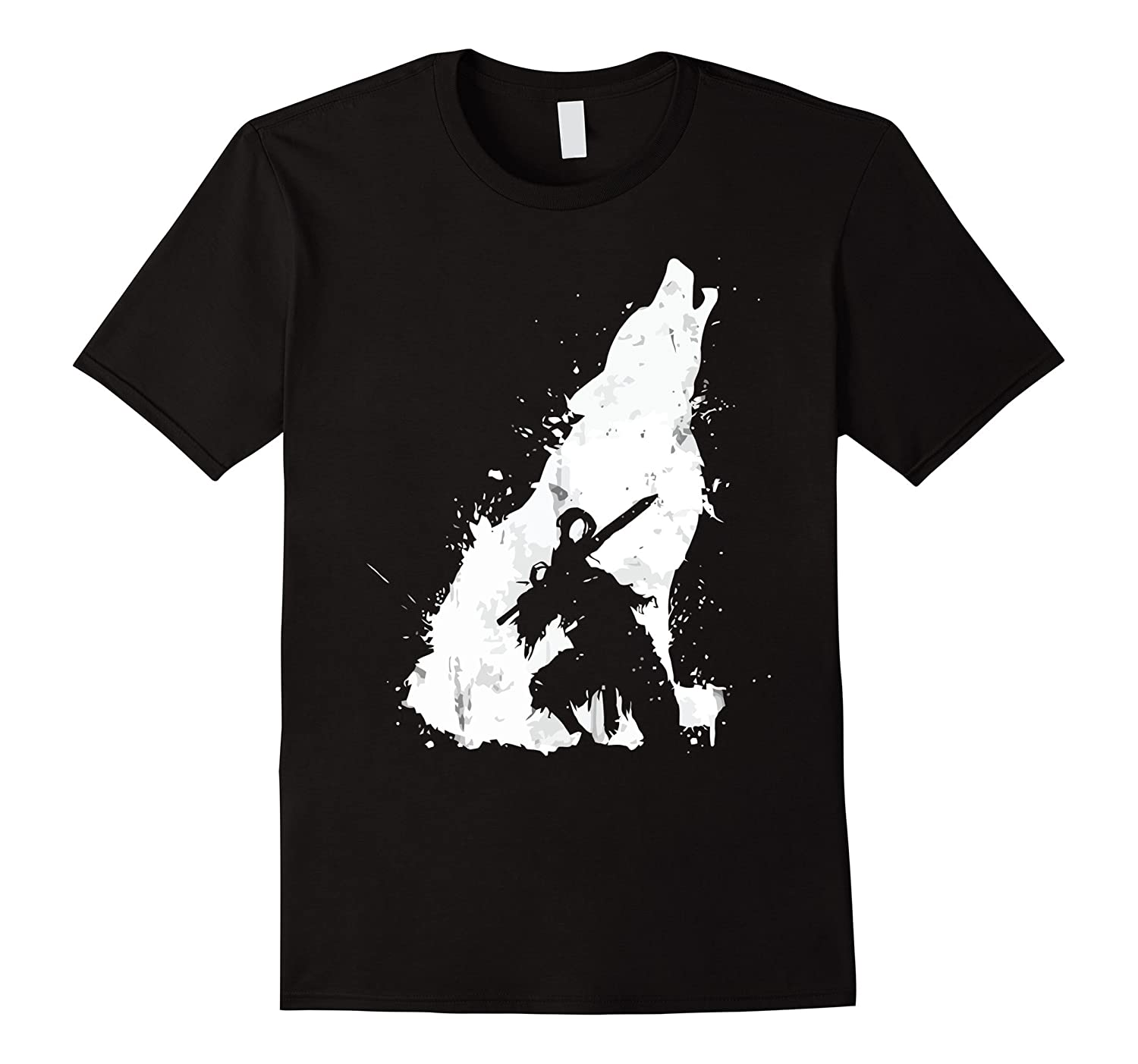 Knight and Wolf Tshirt-TD