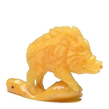 Amazon amber hog handmade amber carvings carved amber hog