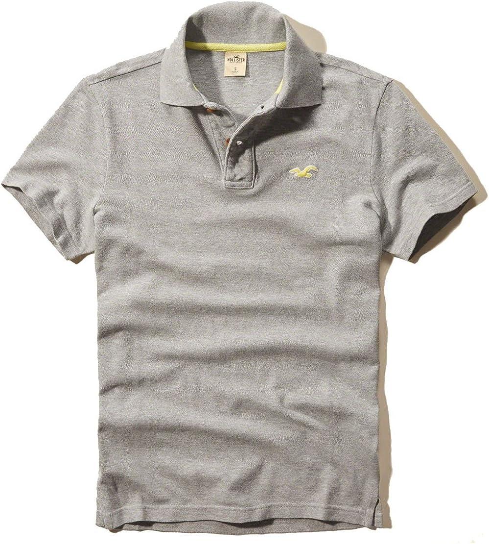 Hollister - Polo - para hombre gris Small: Amazon.es: Ropa y ...