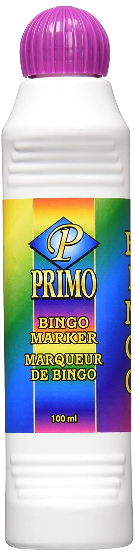Primo Bingo Markers 4 Ounces-Purple Notions - In Network 00009B