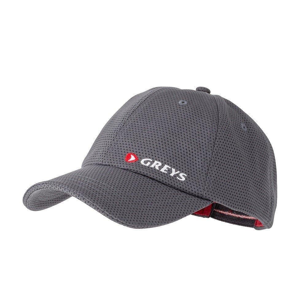 Graphite One Size Greys Mens Performance Cap