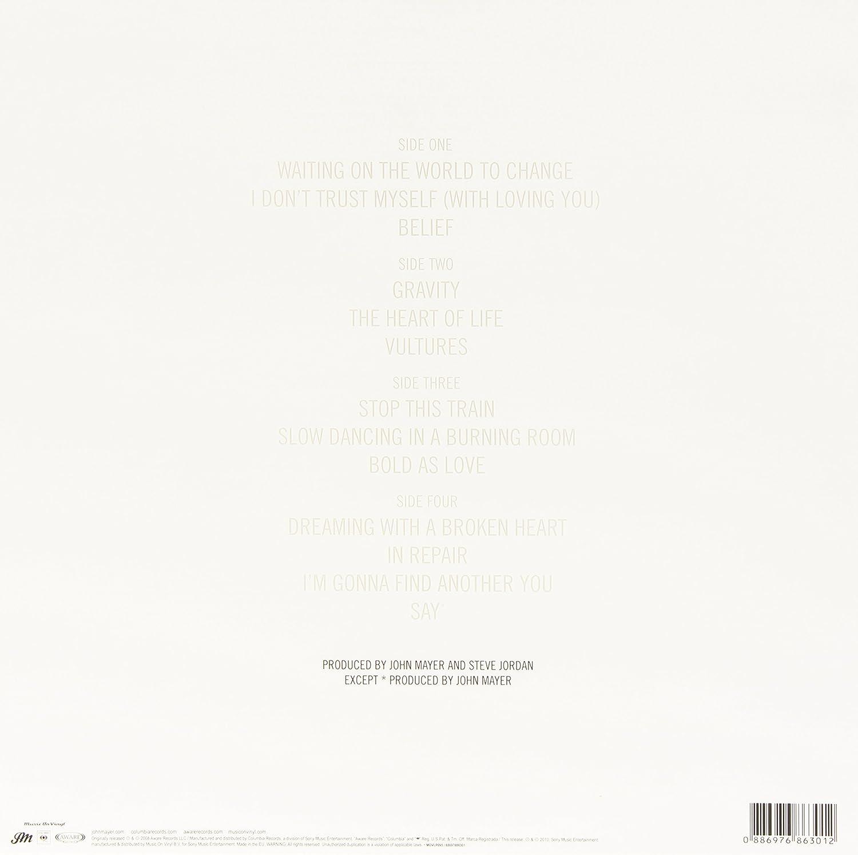 John Mayer - Continuum (180g Vinyl) - Amazon.com Music
