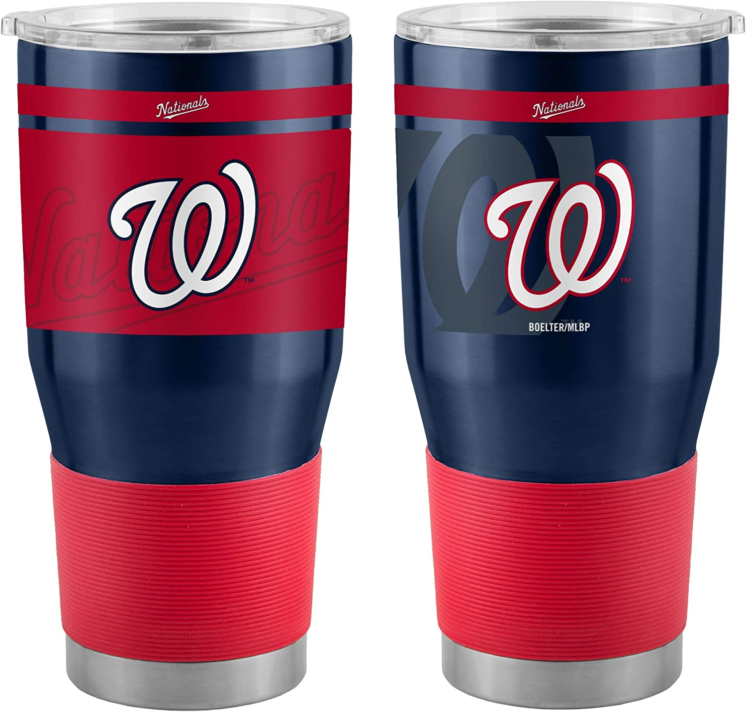 30 Ounce Boelter Brands MLB Team Logo Twist Insulated Ultra Travel Tumbler Cup Nationals