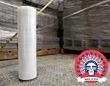 18 Inch X 1500 feet Tough Pallet Shrink Wrap, 80