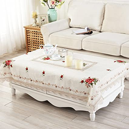 modern Chinese table-cloth/Garden cross stitch Embroidery table cloth/ table cloth/