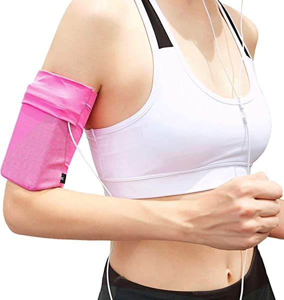 Reflective Phone Armband Sleeve Running Sports Arm Band Strap Holder Pouch